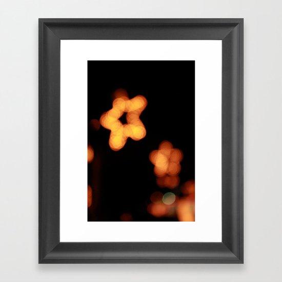 New Star Framed Art Print