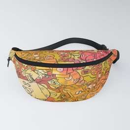 Technology Psychedelic Warm Fanny Pack