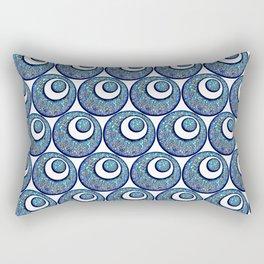 Eyes in Eyes Rectangular Pillow