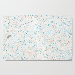 Splatter - Orange Blue Colorway Cutting Board