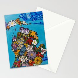 Michigan Floral Stationery Cards