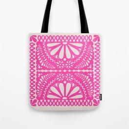 Fiesta de Flores Pink Tote Bag