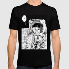 asc 333 - La rencontre rapprochée ( The close encounter) Black Mens Fitted Tee LARGE