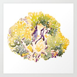 Spirit of tree - Spring Art Print