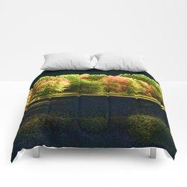 Autumn At Night Comforters