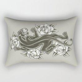 Black Panther Tattoo Rectangular Pillow