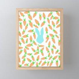 The feast #6 Framed Mini Art Print
