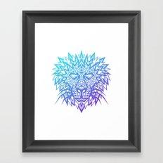Heart of a Lion Framed Art Print