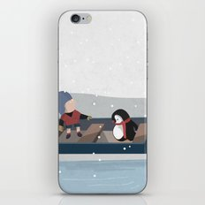 Reaching the South Pole iPhone & iPod Skin