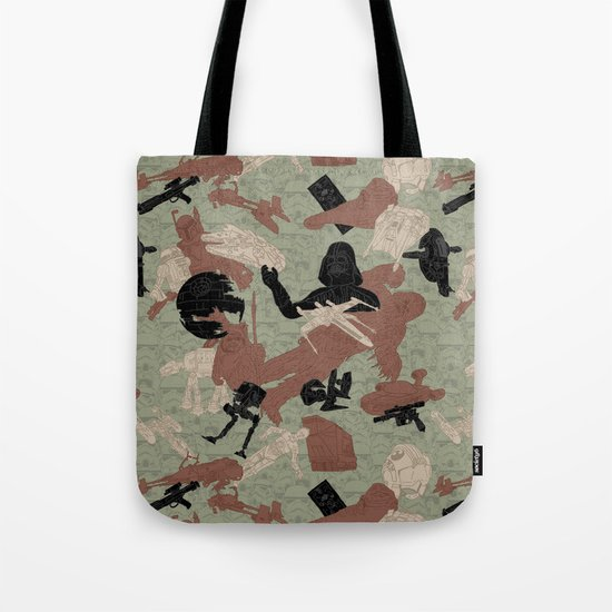 Endor Battle Camo Tote Bag