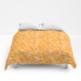 Yellow abstract Comforters