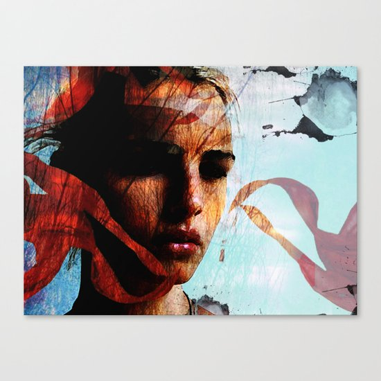memories of sadness Canvas Print