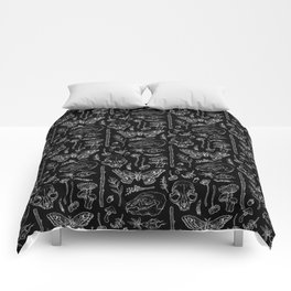 Witchcraft II [B&W] Comforters