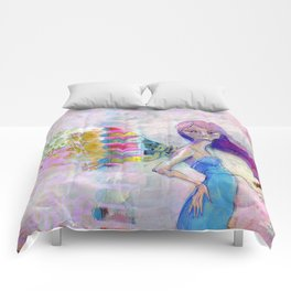 Perfect Little by Jane Davenport Comforters