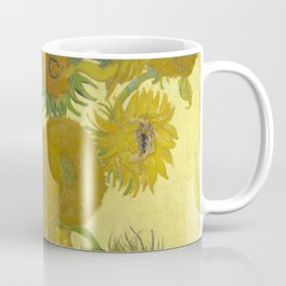 Vincent van Gogh - Still life: Vase with Fifteen Sunflowers (1888) Coffee Mug