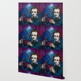 A Midnight Dreary - Edgar Allan Poe Wallpaper