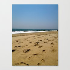 A Jersey Shore Canvas Print