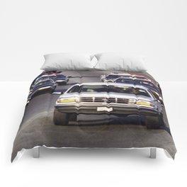 OJ Simpson Car Chase Comforters