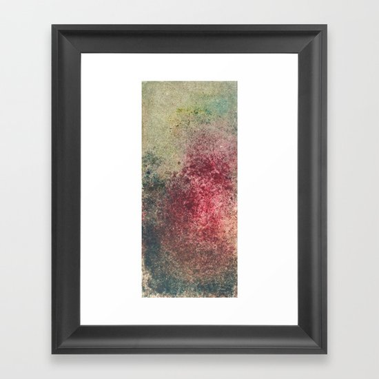 Rash Framed Art Print