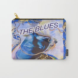 The Blues Face Carry-All Pouch