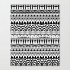 WHISKY AZTEC B/W  Canvas Print