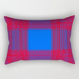 horizontal and vertical 2 rob Rectangular Pillow