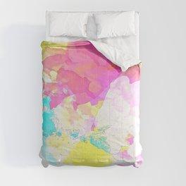 Rainbow Clouds Comforters