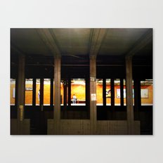 Deep City Canvas Print