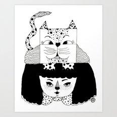 mew Art Print