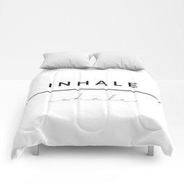 Inhale - Exhale Comforters