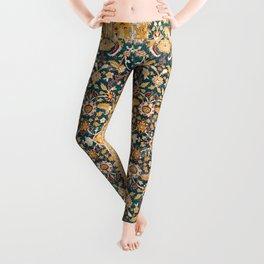 Amritsar Punjab Northwest Indian Rug Print Leggings