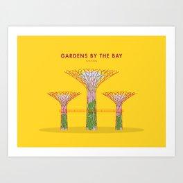 Gardens by the Bay, Singapore [Building Singapore] Art Print