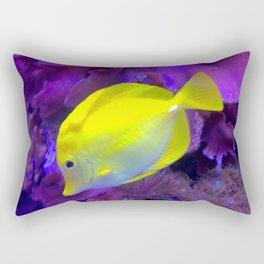 Yellow Tang Rectangular Pillow