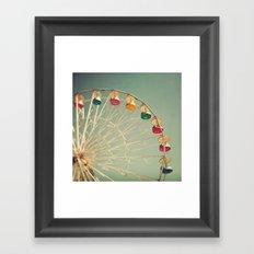 Color Wheel Framed Art Print
