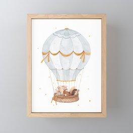 Cloud Explorers Framed Mini Art Print