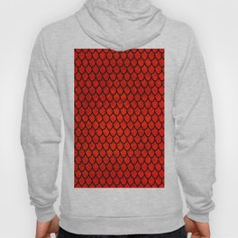 Mermaid Scales - Red Hoody
