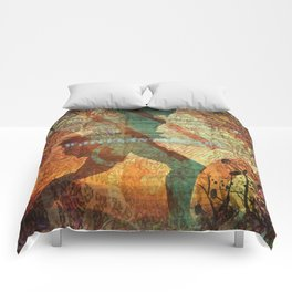 Illustration, graphic desing, art Comforters