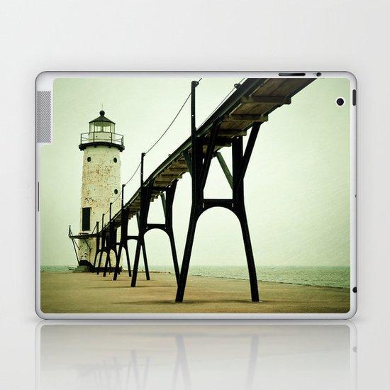 Manistee Light Laptop & iPad Skin