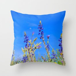 Desert Wildflower Hike 3 Throw Pillow