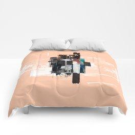"""Pack Mule Four"" Graphic Art Print Comforters"