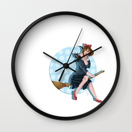 Modern Kiki Wall Clock