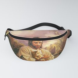 The Cat of Christ Fanny Pack