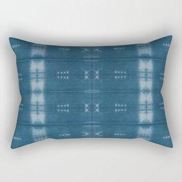 Adire mud cloth Rectangular Pillow