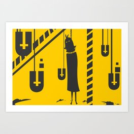 The Rope  Art Print