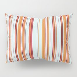 Combined Stripe Pattern - Clear Sailing Colorway Pillow Sham