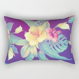 Tropical flowers Rectangular Pillow