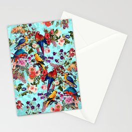 Floral and Birds XI Stationery Cards