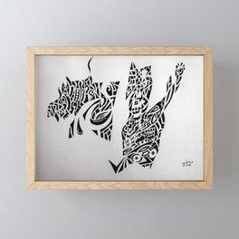 Freehand, freemind Framed Mini Art Print
