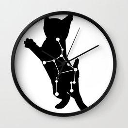 virgo cat Wall Clock