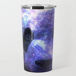 Galaxy Panda Space Colorful Travel Mug